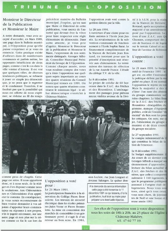 Tribune Siffredi 1992